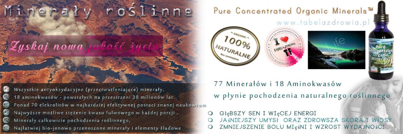 Pure_organic_mineral. Ponad 70 minerałów/elektrolitów