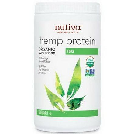 Proteiny i błonnik z konopi (Organic Hemp Protein Hi Fiber) Nutiva