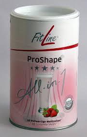 Pro shape - shake Truskawkowy