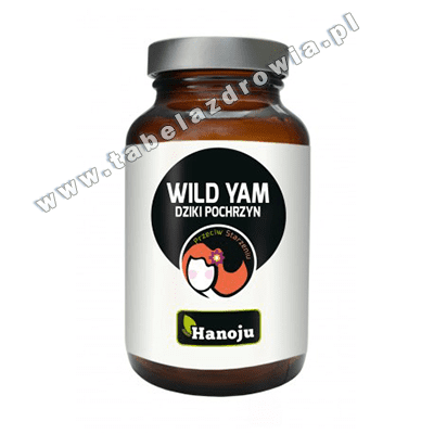 Wild Yam Dziki Pochrzyn Hanoju 90 kap 500mg