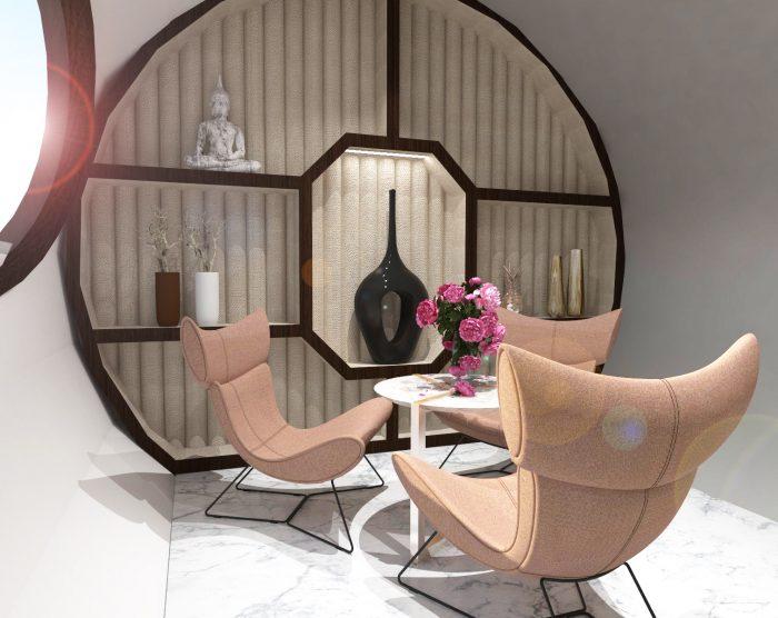 komora normobaryczna, fotele
