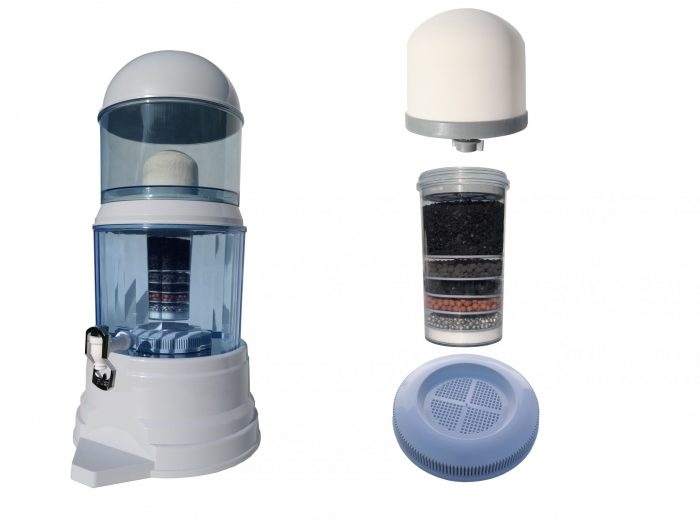 naturalnie filtrowana woda