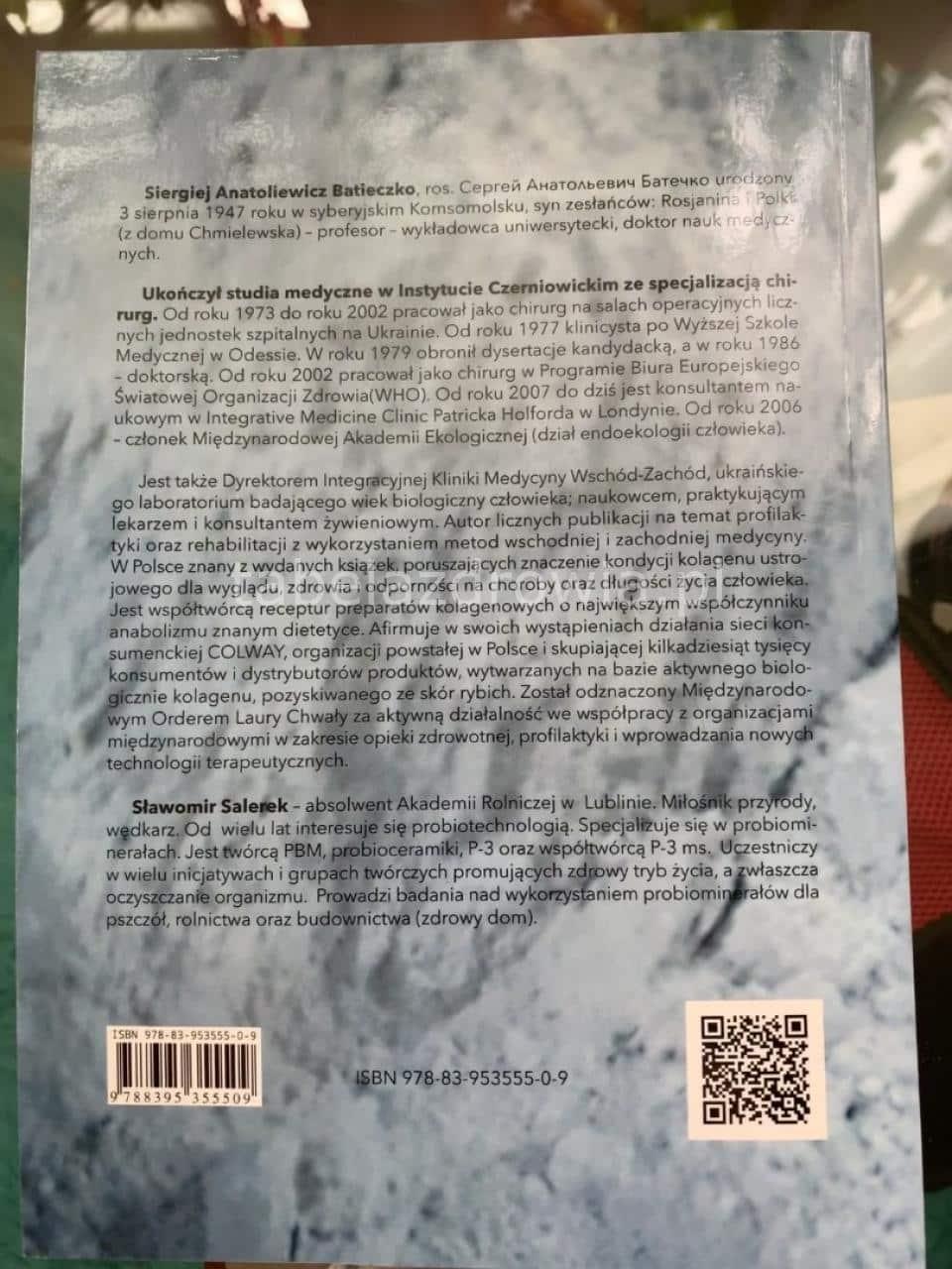 """książka """"Wyjątkowa siła probiominerału"""" PBM"""