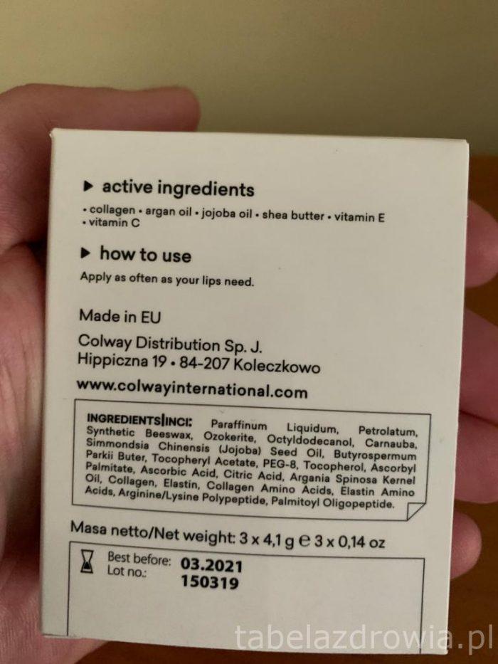 Hydro do pielęgnacji ust - pomadki z kolagenem