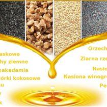 Oleje i prasa do tłoczenia
