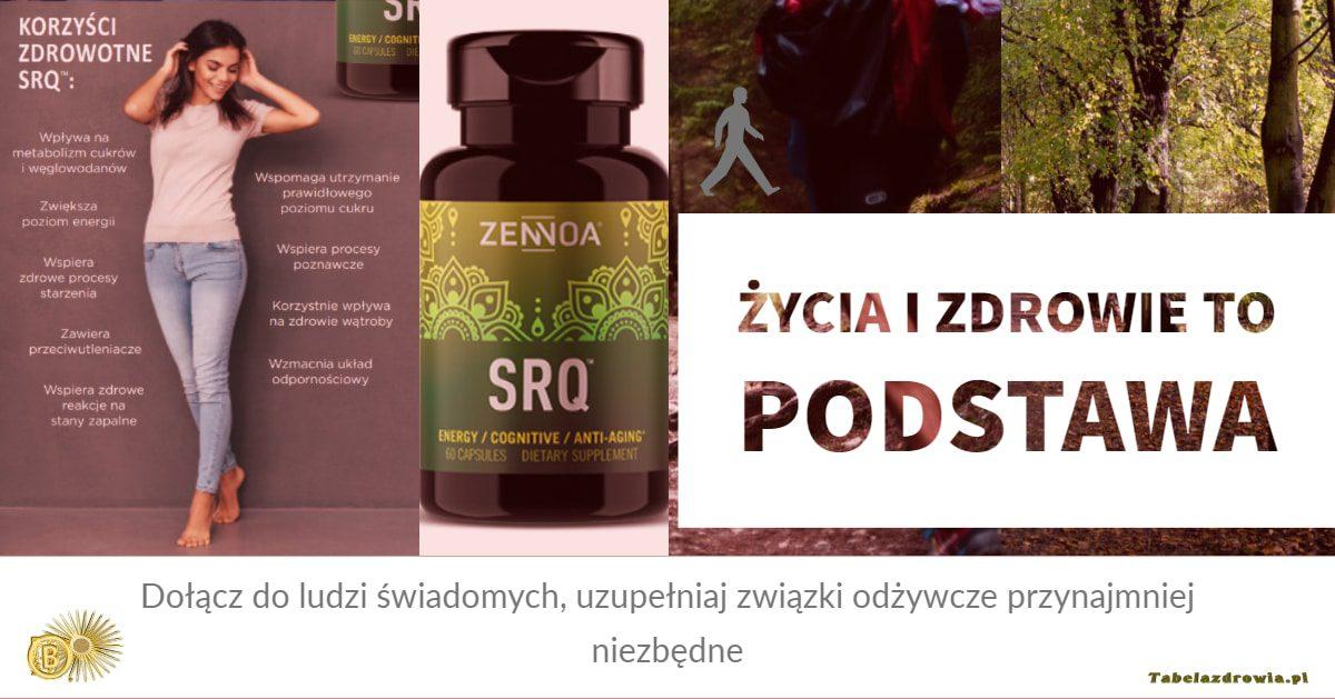 SRQ - Q!), karnityna i inne składniki odżywcze