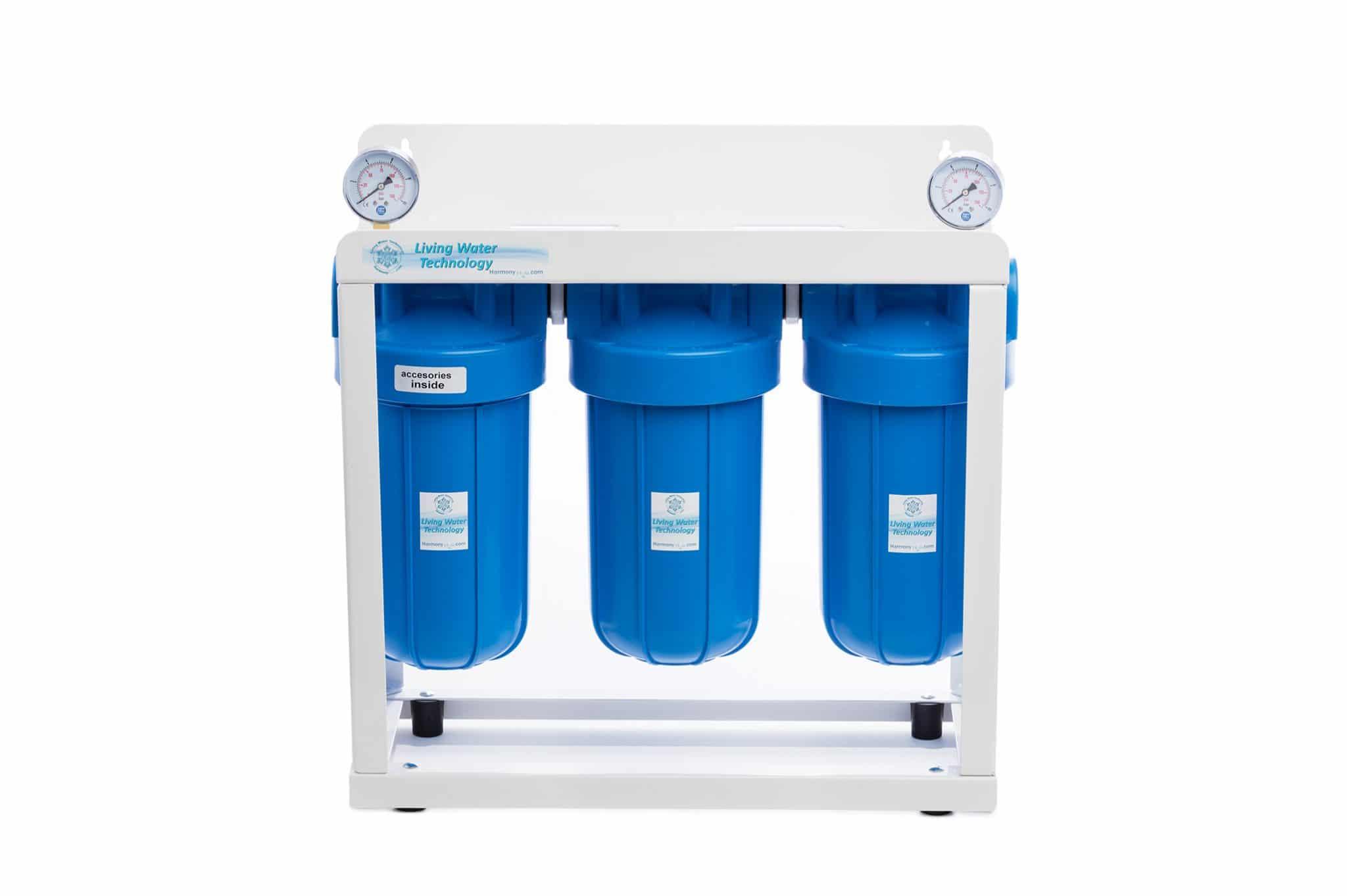 System uzdatniana żywej wody 3 stopniowy