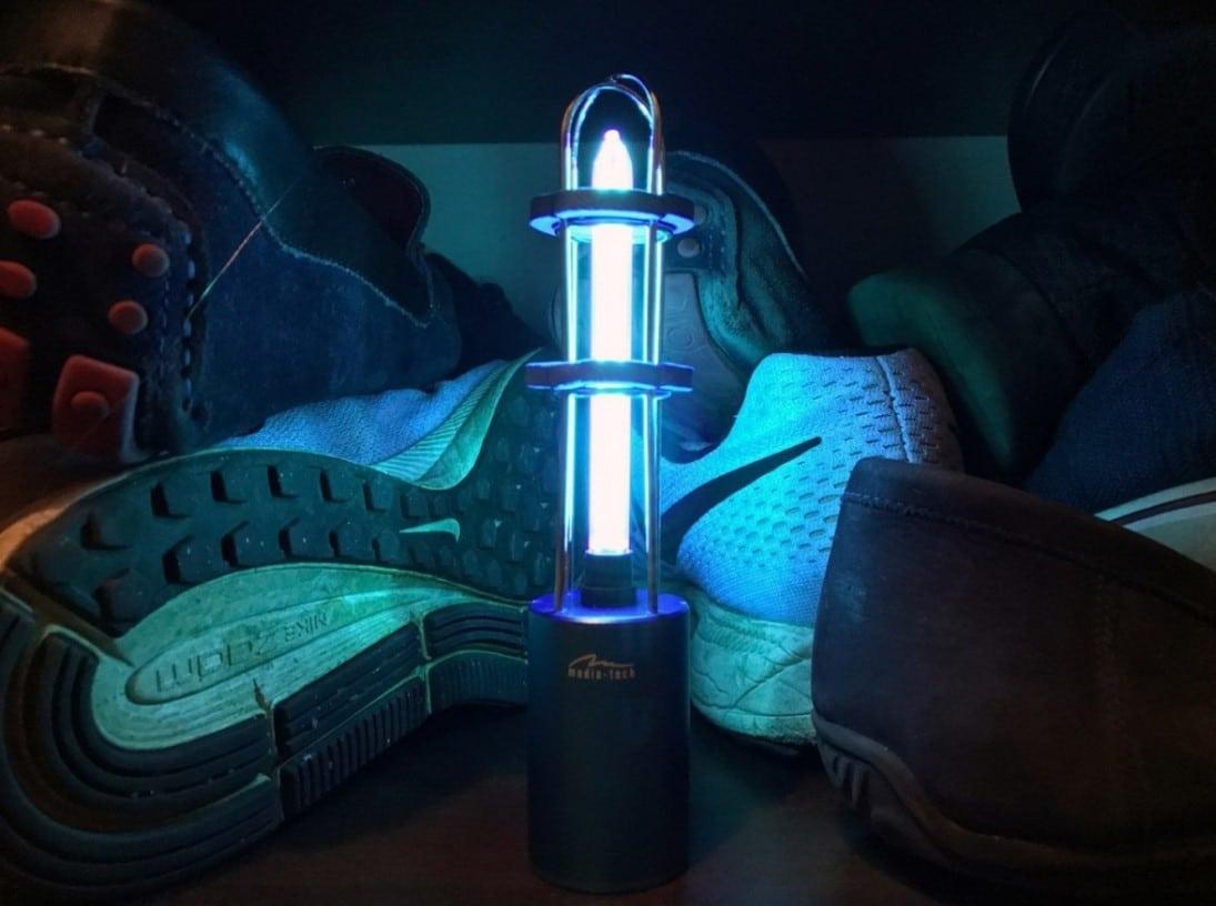 2 in 1 OZONE UV-C STERILIZacja LAMP MT6509