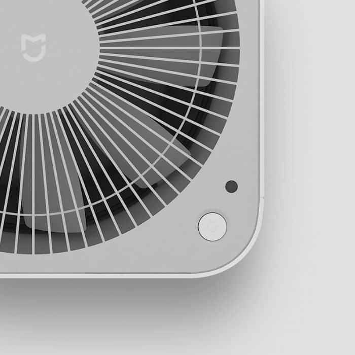 filtr powietrza z dostępemm z aplikacji na smartfona