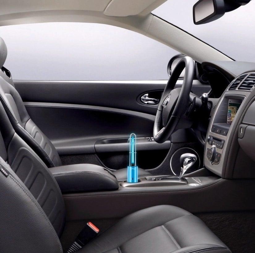Lamap UV i ozon- Ozonowanie auta
