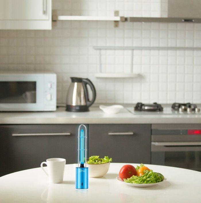 Lamap UV i ozon w kuchnii