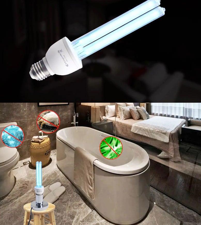 Lampa UV zabija bakterie