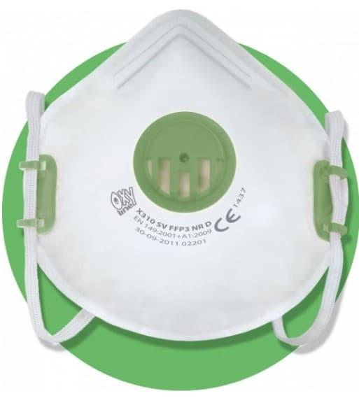 Maska antysmogowa z filtrem FFP3