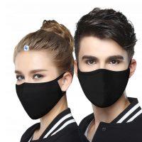 maska na twarz czarna