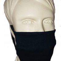 Maska na twarz granatowa