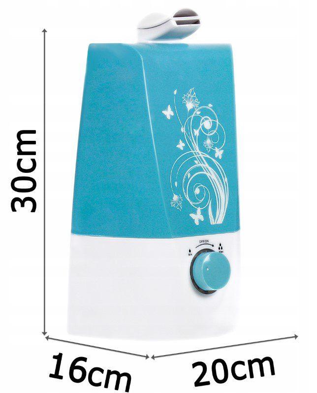 nawilzacz-powietrza-jonizacja-aromaterapia wymiary