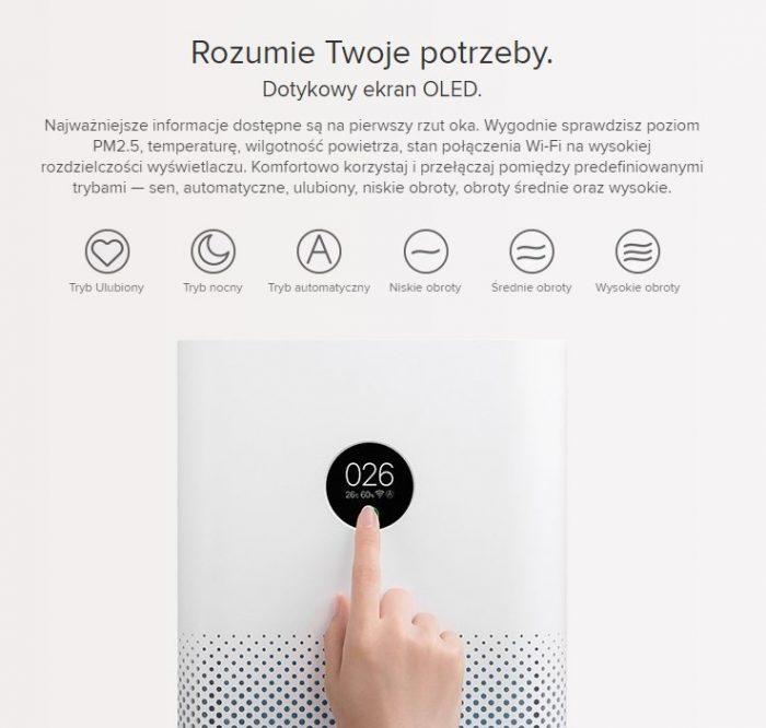 oczyszczenie powietrza ze smartfona