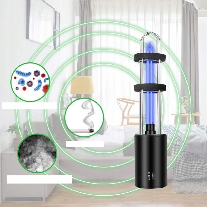 STERYLIZATOR UV ANTYBAKTERYJNY LAMPA OZON54