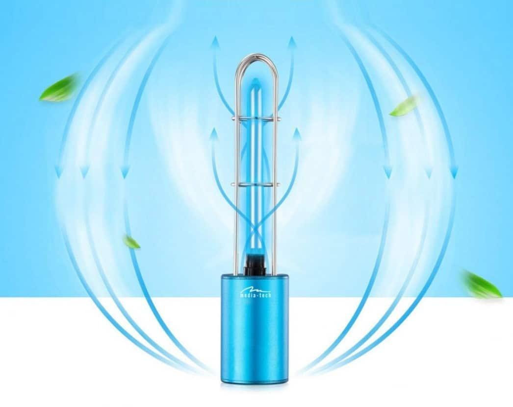 Sterylizująca Lampa UV z Ozonem MT6509