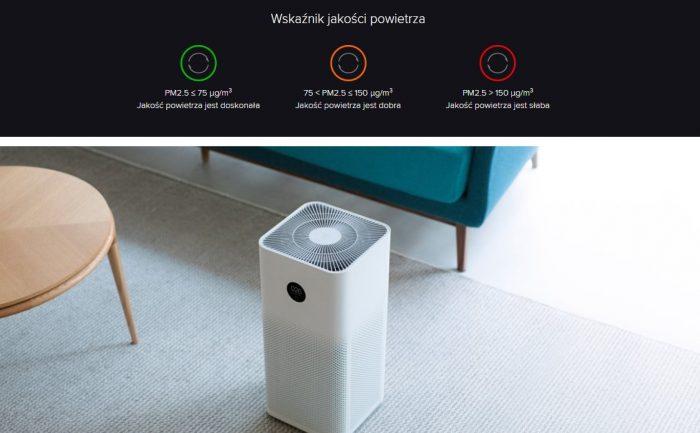 ze smartfona widoczność stanu powietrza