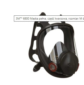 3M 6800 Maska pełna wielokronego użytku