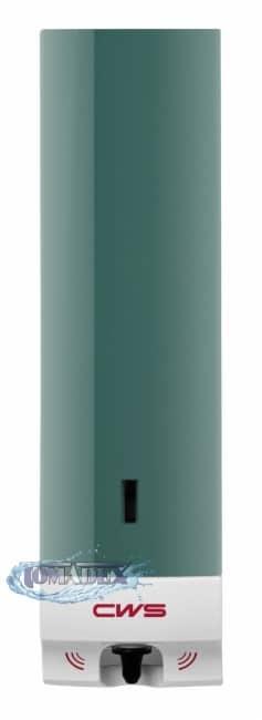 CWS Bezdotykowy dozownik mydła w pianie 500ml zielony