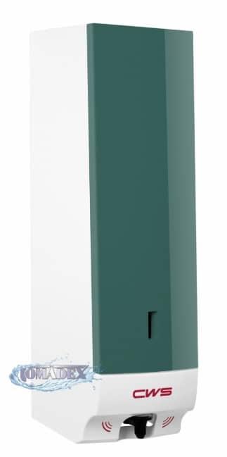 CWS Bezdotykowy dozownik mydła w pianie 500ml zielony3