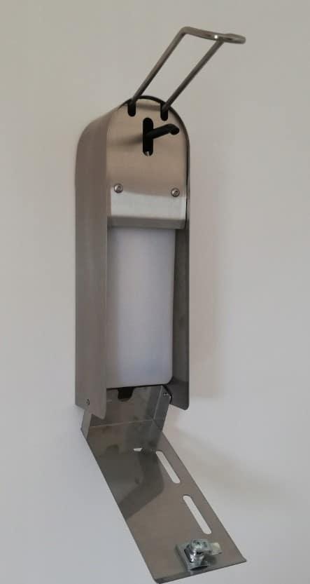 Dozwnik mydła, płynu łokciowy stal nierdzewna43
