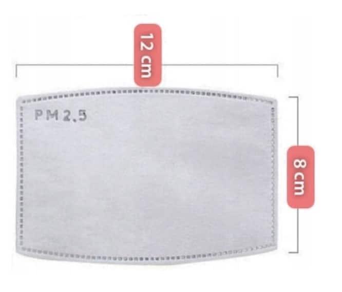 Filtr z WĘGLEM aktywnym N95 do maseczka 3