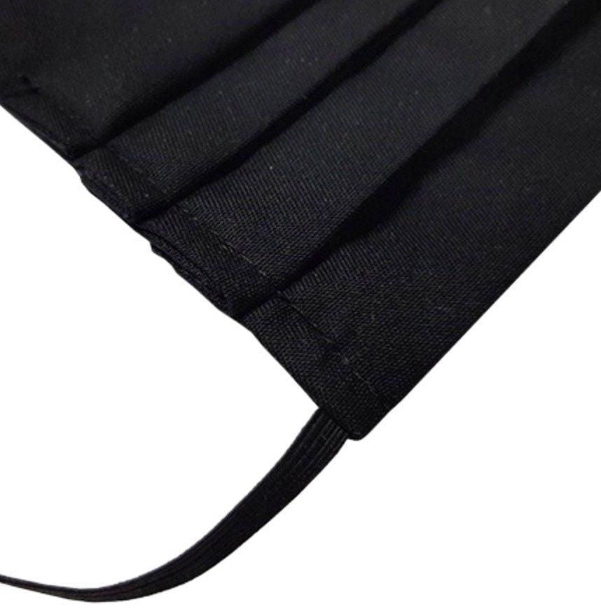 Maseczka ochronna z filtrem - wielorazowa czarna