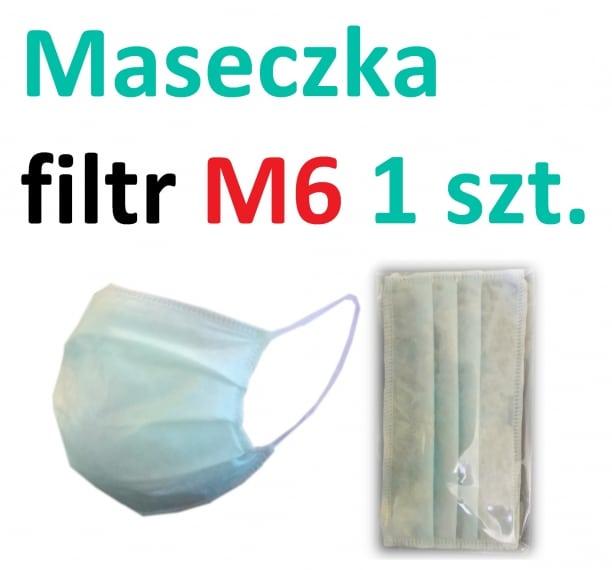 MASKA FILTR M6 3 WARSTWY