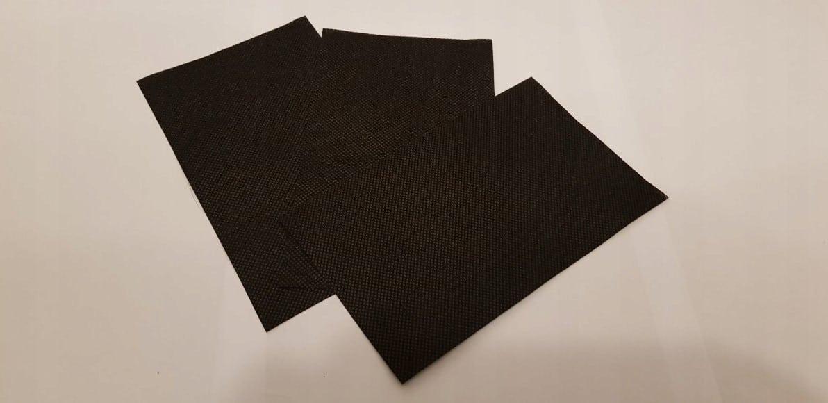 Maska maseczka bawełniana z kieszonką + filtry z włókniny