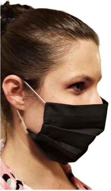 Maska maseczka bawełniana z kieszonką