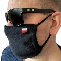 Maska na Twarz Maseczka OEKO-TEX 100 Flaga Polski 2