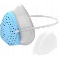 Maska na twarz maseczka z filtrem FFP3 2x filtr