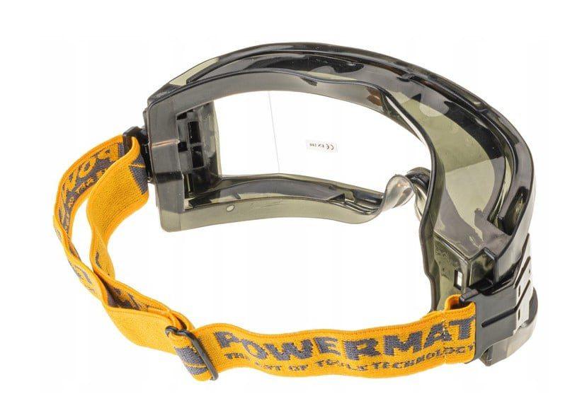 Okulary Gogle OCHRONNE Przeciwodpryskowe Robocze2
