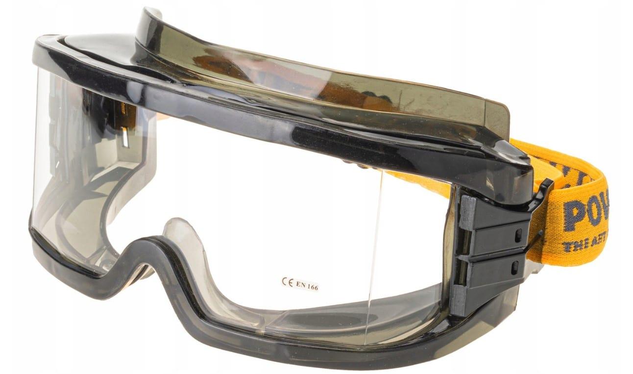 Okulary Gogle OCHRONNE Przeciwodpryskowe Robocze4