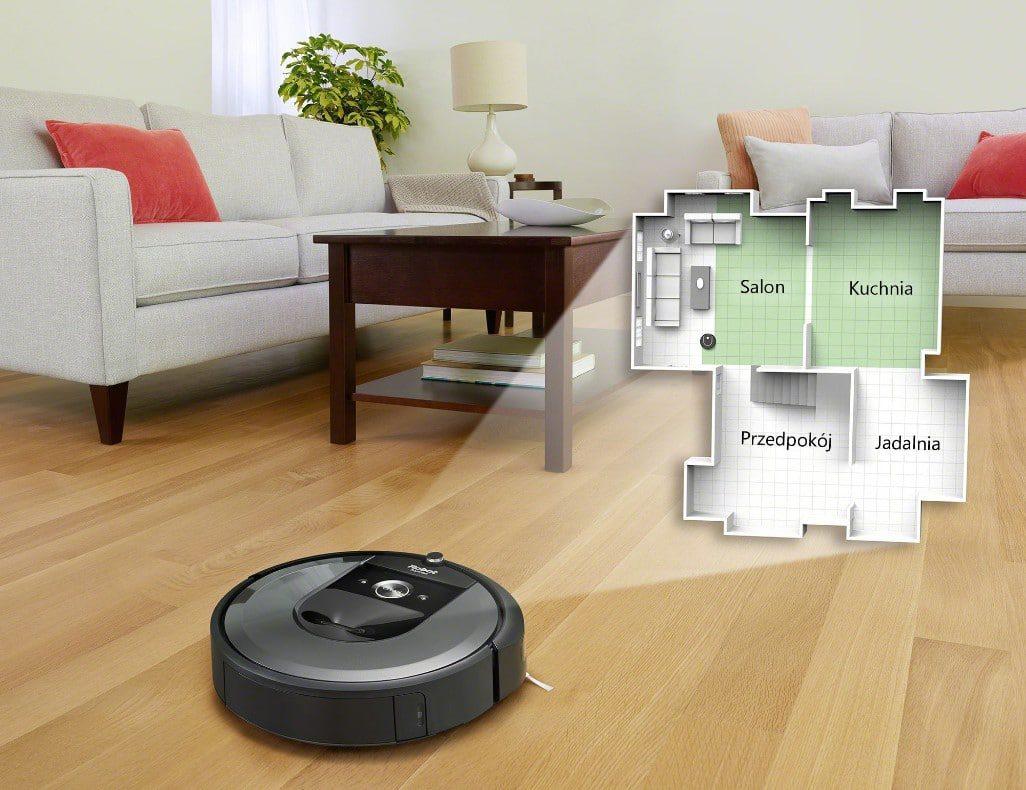 robot Roomba technologia sprzątania domou