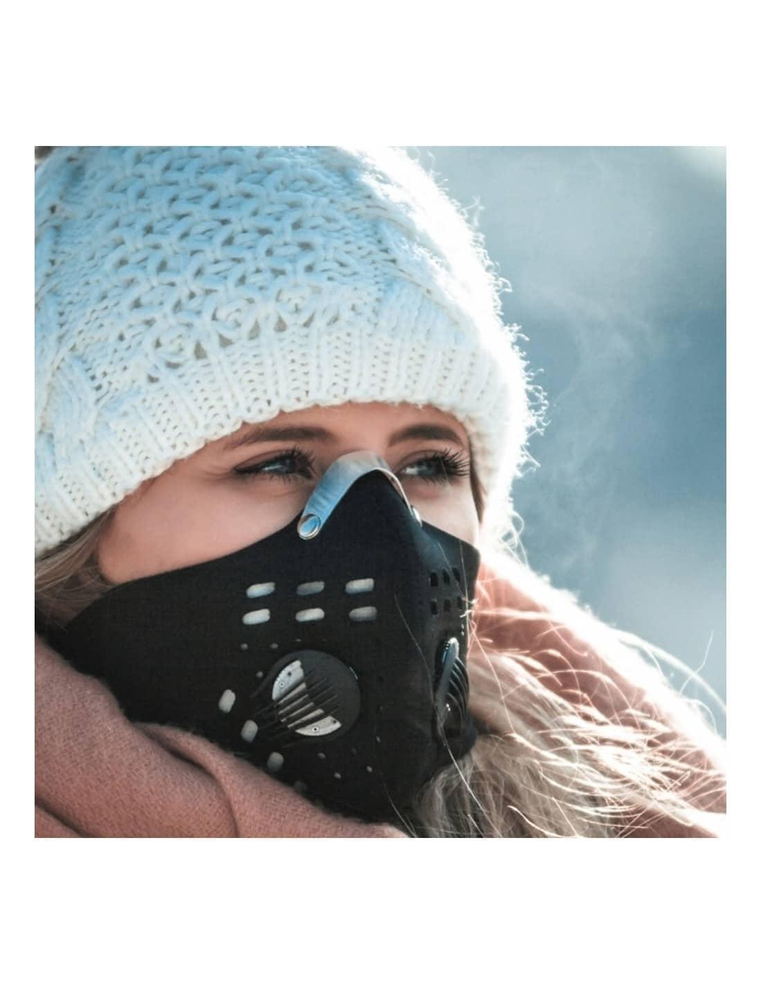 Sportowa maska antysmogowa Tokyo Mask - Ginza - filtr HEPA N99