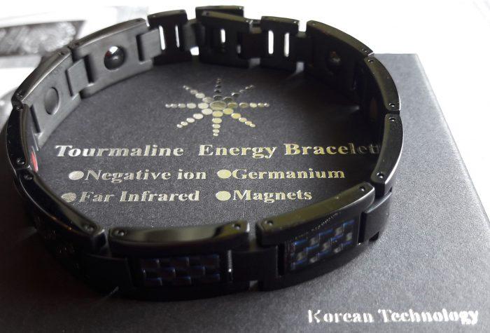 Tytanowa Bransoletka Magnetyczna