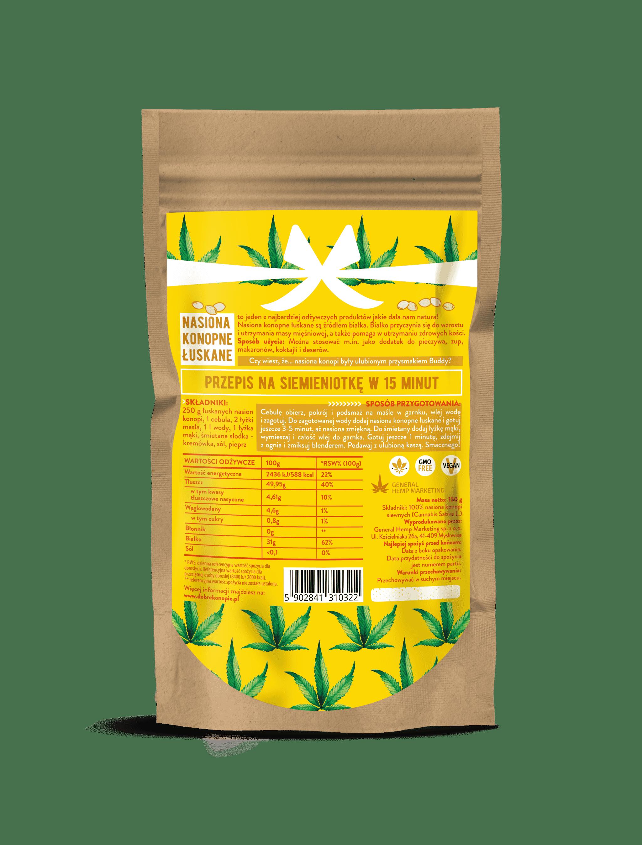 nasiona łuskane