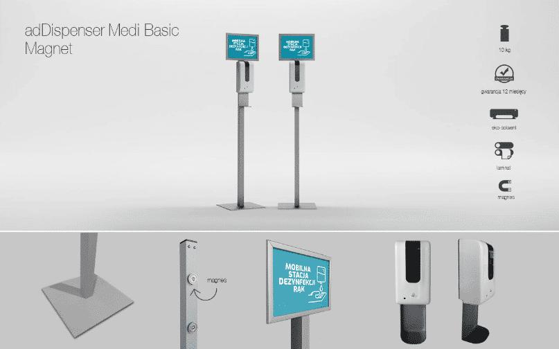 adDispenser Medi basic magnet