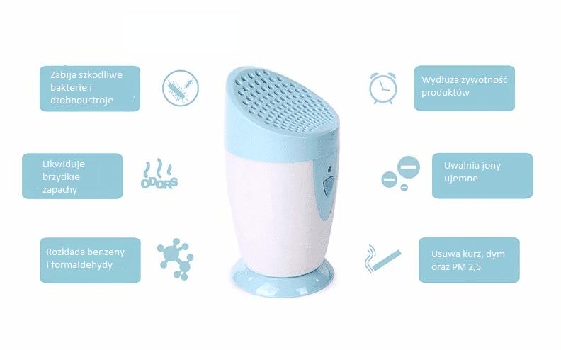 JO-6706 mini oczyszczacz powietrza