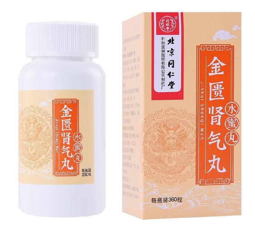 JINKUI SHENQI WAN (JIN KUI SHEN QI WAN) 360 tabletek